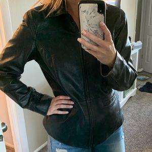 Style & Co Leather jacket